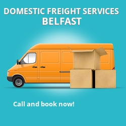 BT7 local freight services Belfast