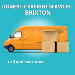 SW9 local freight services Brixton