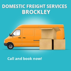 SE4 local freight services Brockley