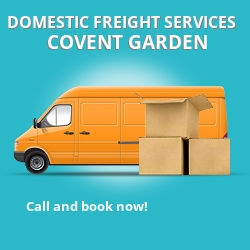 WC2 local freight services Covent Garden
