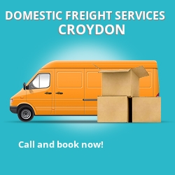 CR0 local freight services Croydon