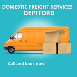 SE8 local freight services Deptford