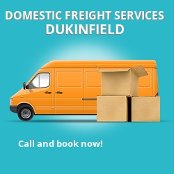 SK16 local freight services Dukinfield