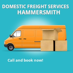 W12 local freight services Hammersmith