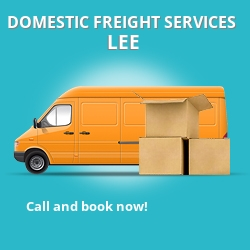 SE12 local freight services Lee