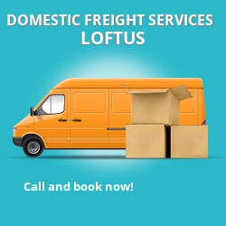 TS13 local freight services Loftus