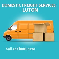 MK43 local freight services Luton