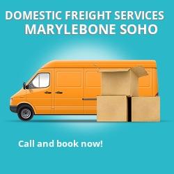 W1 local freight services Marylebone Soho