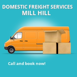 NW7 local freight services Mill Hill