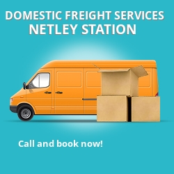 SO31 local freight services Netley Station
