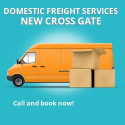 SE14 local freight services New Cross Gate