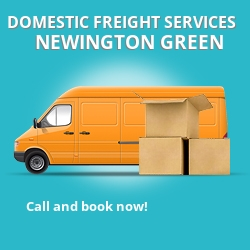 N16 local freight services Newington Green