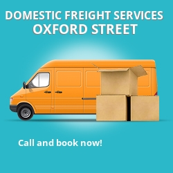 W1 local freight services Oxford Street