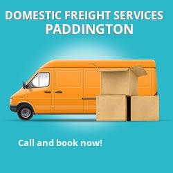 W2 local freight services Paddington