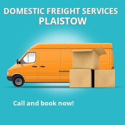 E13 local freight services Plaistow