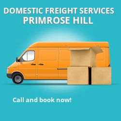 NW1 local freight services Primrose Hill
