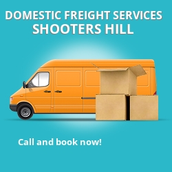 SE18 local freight services Shooters Hill