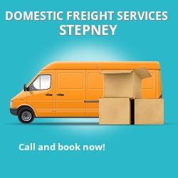 E1 local freight services Stepney