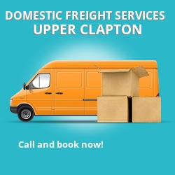 E5 local freight services Upper Clapton