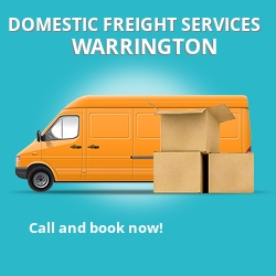 WA2 local freight services Warrington