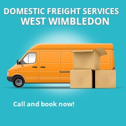 SW20 local freight services West Wimbledon