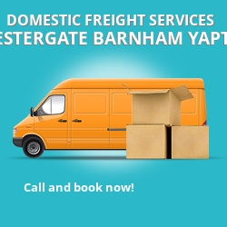 PO20 local freight services Westergate Barnham Yapton