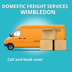 SW19 local freight services Wimbledon