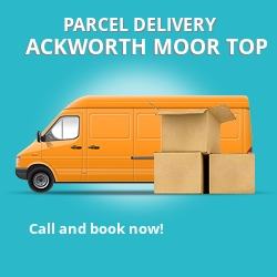WF7 cheap parcel delivery services in Ackworth Moor Top