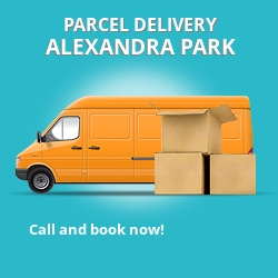 N22 cheap parcel delivery services in Alexandra Park