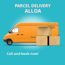 FK10 cheap parcel delivery services in Alloa
