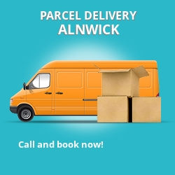 NE66 cheap parcel delivery services in Alnwick