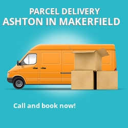 WN4 cheap parcel delivery services in Ashton-in-Makerfield