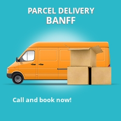AB45 cheap parcel delivery services in Banff