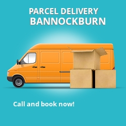 FK7 cheap parcel delivery services in Bannockburn