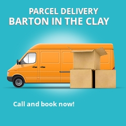 MK45 cheap parcel delivery services in Barton in the Clay