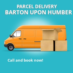 DN18 cheap parcel delivery services in Barton-Upon-Humber