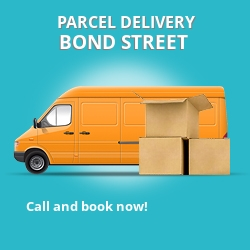 W1 cheap parcel delivery services in Bond Street