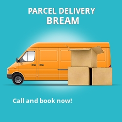 GL15 cheap parcel delivery services in Bream