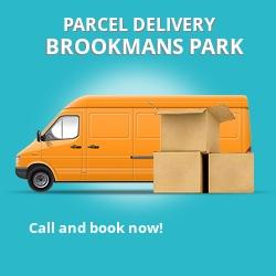 AL9 cheap parcel delivery services in Brookmans Park