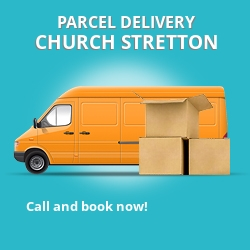 SY1 cheap parcel delivery services in Church Stretton