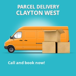 HD8 cheap parcel delivery services in Clayton West