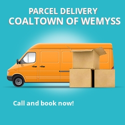 KY1 cheap parcel delivery services in Coaltown of Wemyss