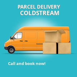 TD12 cheap parcel delivery services in Coldstream