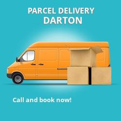 S75 cheap parcel delivery services in Darton
