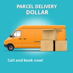 FK14 cheap parcel delivery services in Dollar