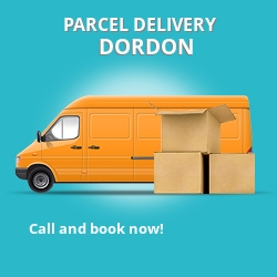 B78 cheap parcel delivery services in Dordon