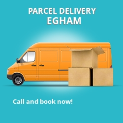 TW20 cheap parcel delivery services in Egham