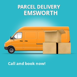 PO10 cheap parcel delivery services in Emsworth