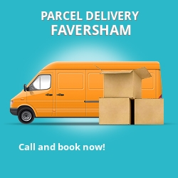 ME16 cheap parcel delivery services in Faversham