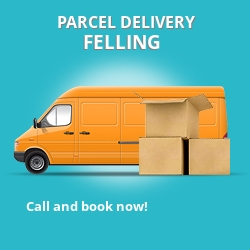 NE10 cheap parcel delivery services in Felling